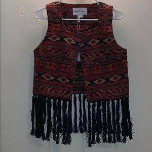 BCBG Generation Tribal Vest